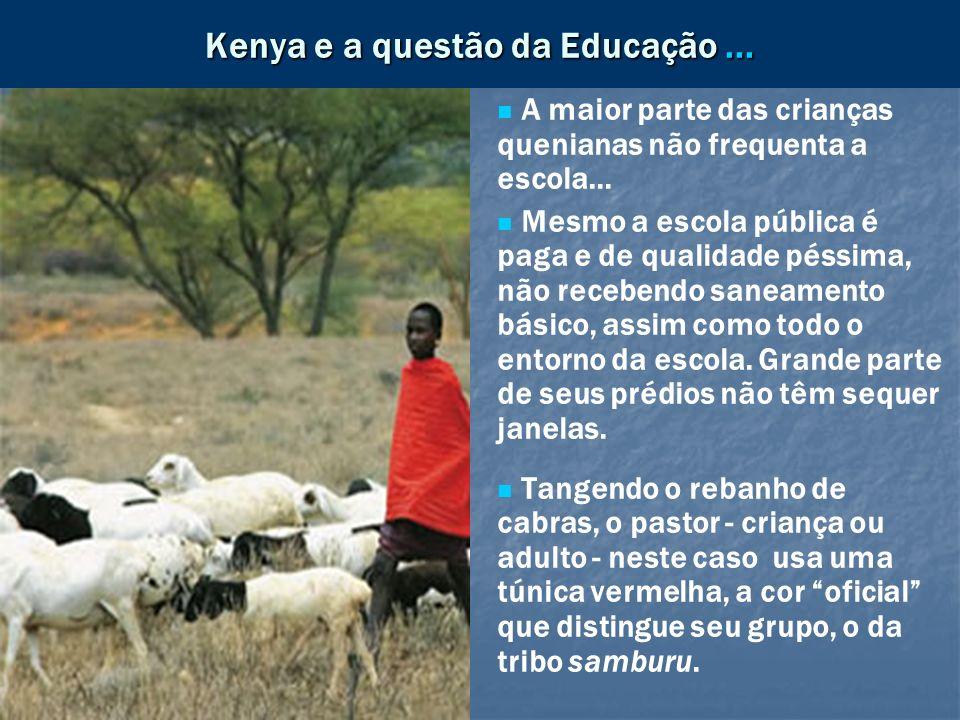 Kenya e a questão da Educação ...