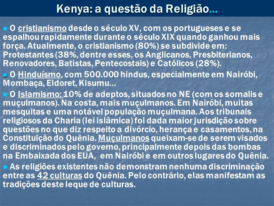 Kenya: a questão da Religião...