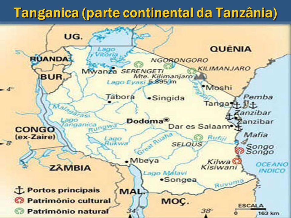 Tanganica (parte continental da Tanzânia)