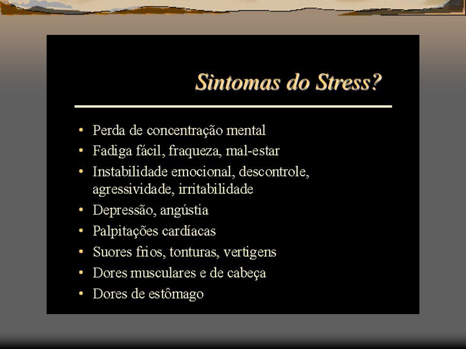 Sintomas do Stress