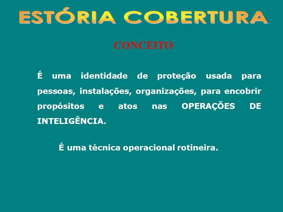 ESTÓRIA COBERTURA CONCEITO