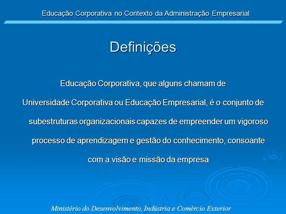 Educação Corporativa, que alguns chamam de