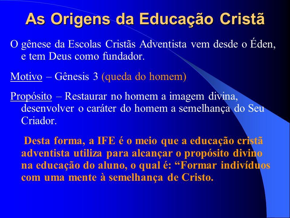 As Origens da Educação Cristã