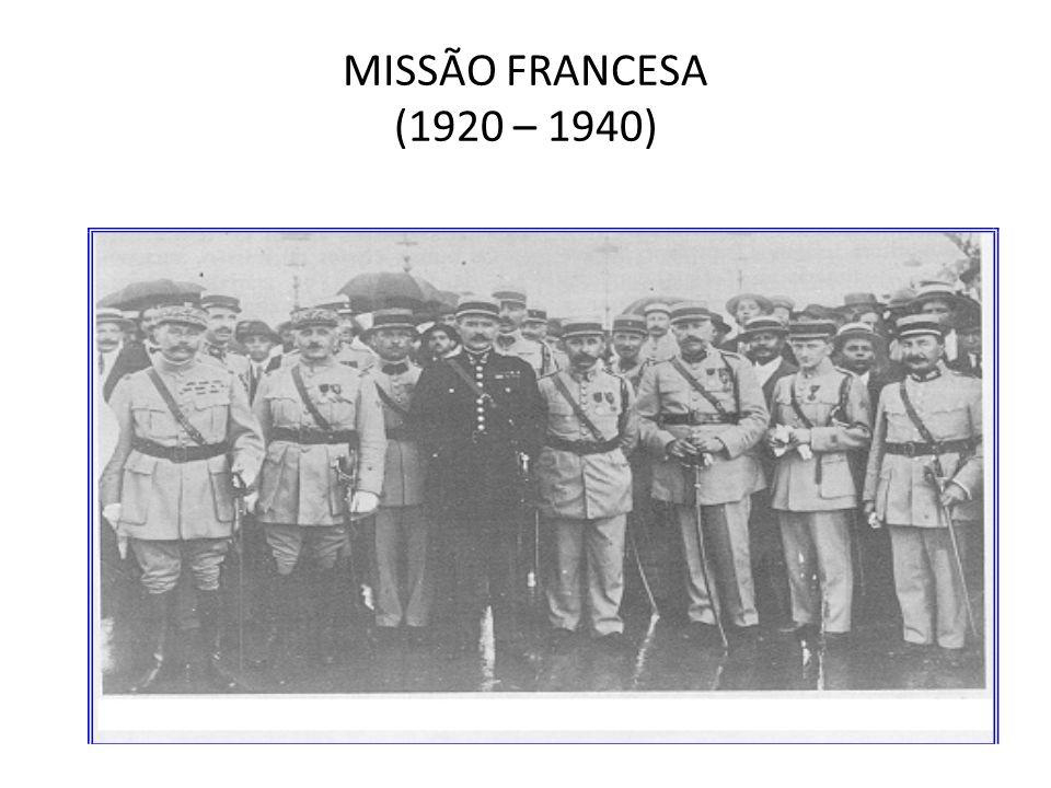MISSÃO FRANCESA (1920 – 1940)