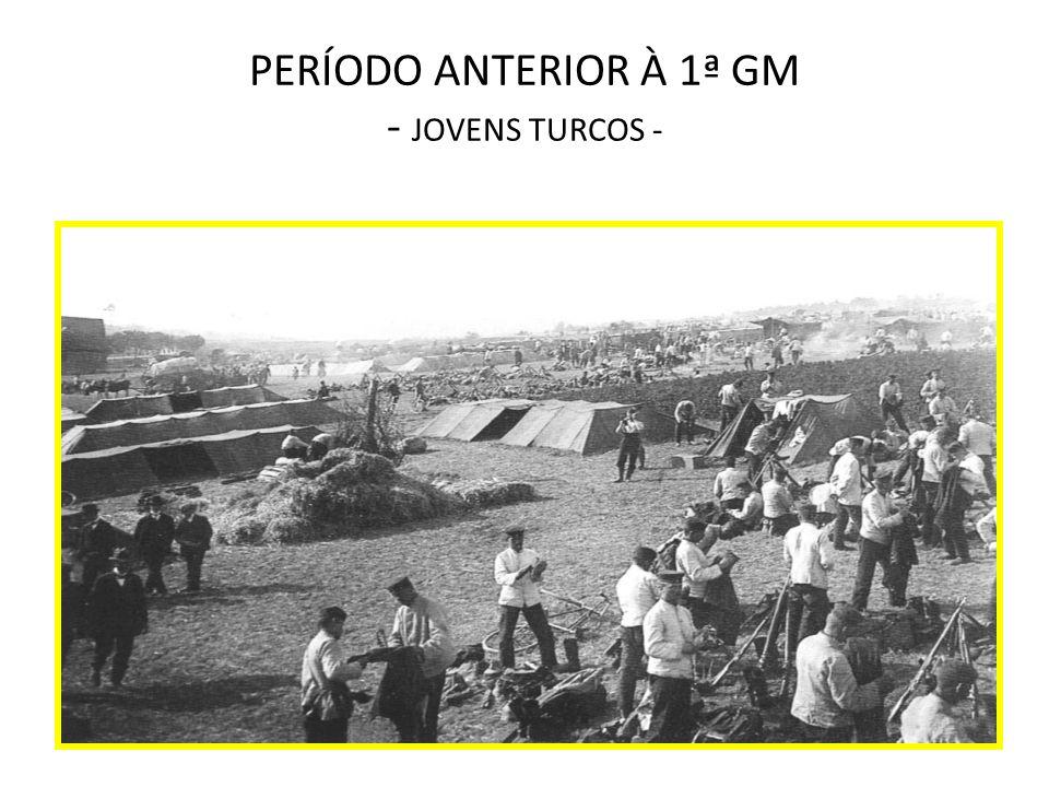 PERÍODO ANTERIOR À 1ª GM - JOVENS TURCOS -