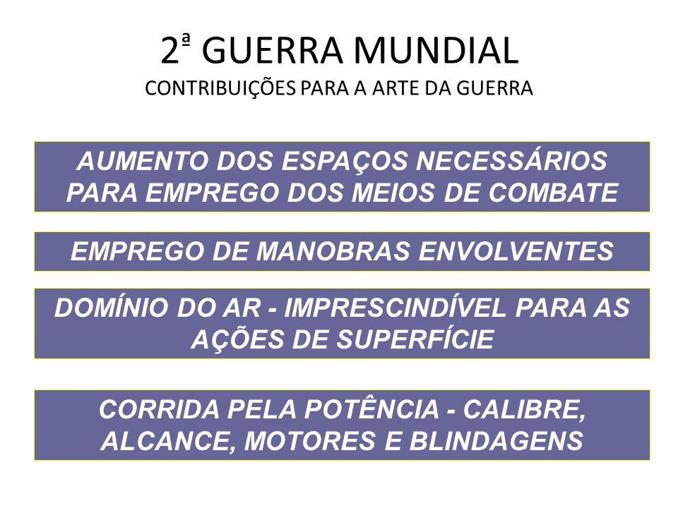 2ª GUERRA MUNDIAL CONTRIBUIÇÕES PARA A ARTE DA GUERRA
