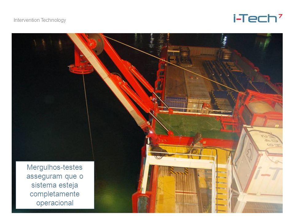 Mergulhos-testes asseguram que o sistema esteja completamente operacional
