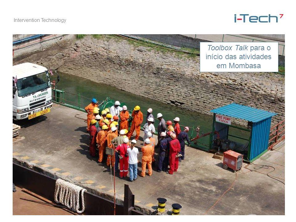 Toolbox Talk para o início das atividades em Mombasa