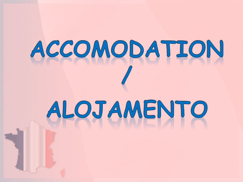 Accomodation / Alojamento