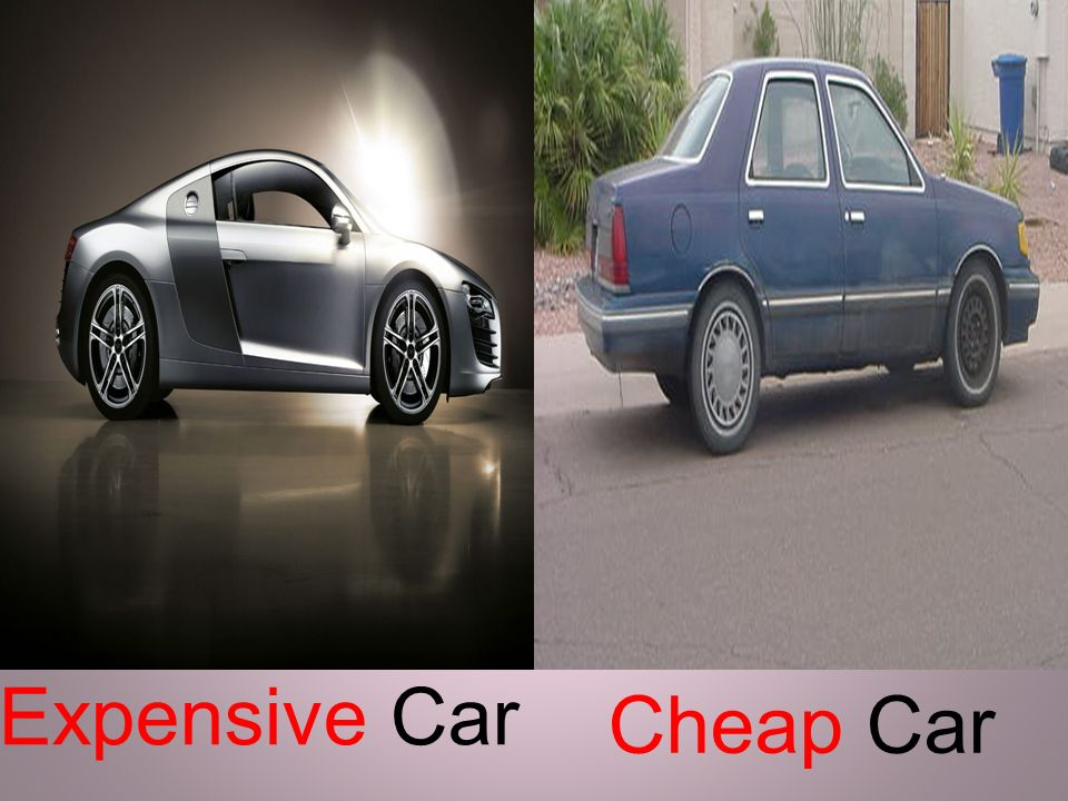 Expensive Car Cheap Car