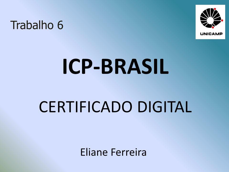 ICP-BRASIL CERTIFICADO DIGITAL