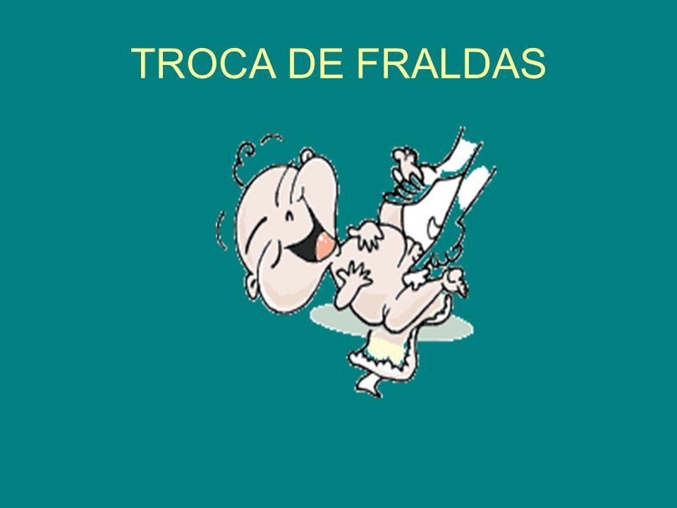 TROCA DE FRALDAS