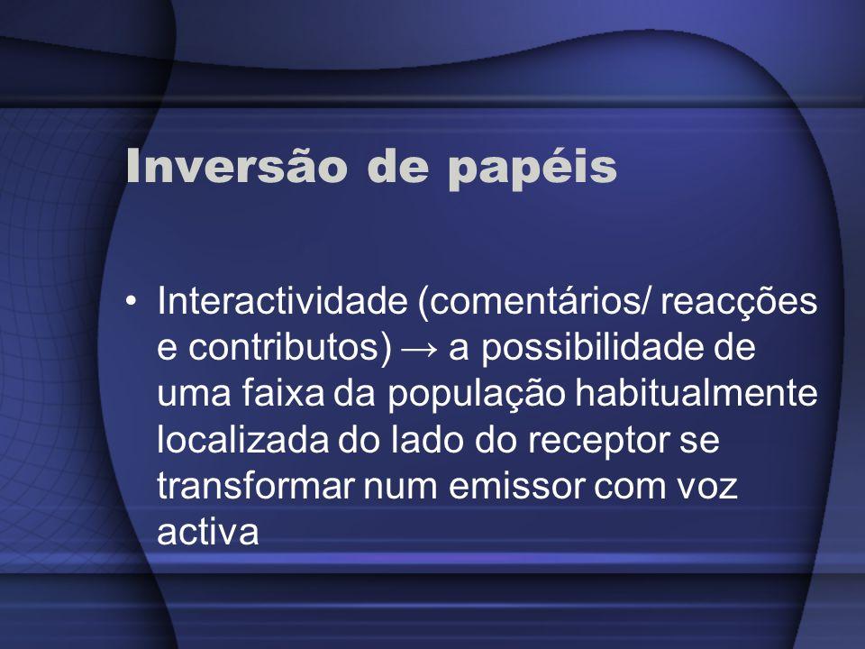 Inversão de papéis