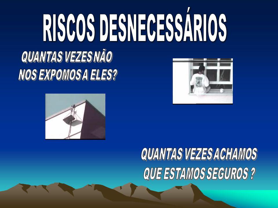 RISCOS DESNECESSÁRIOS