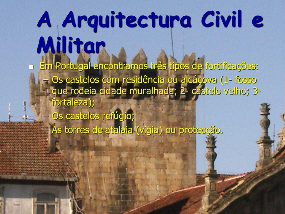 A Arquitectura Civil e Militar