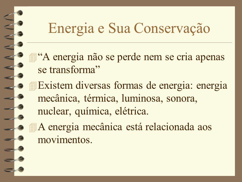 Energia e Sua Conservação
