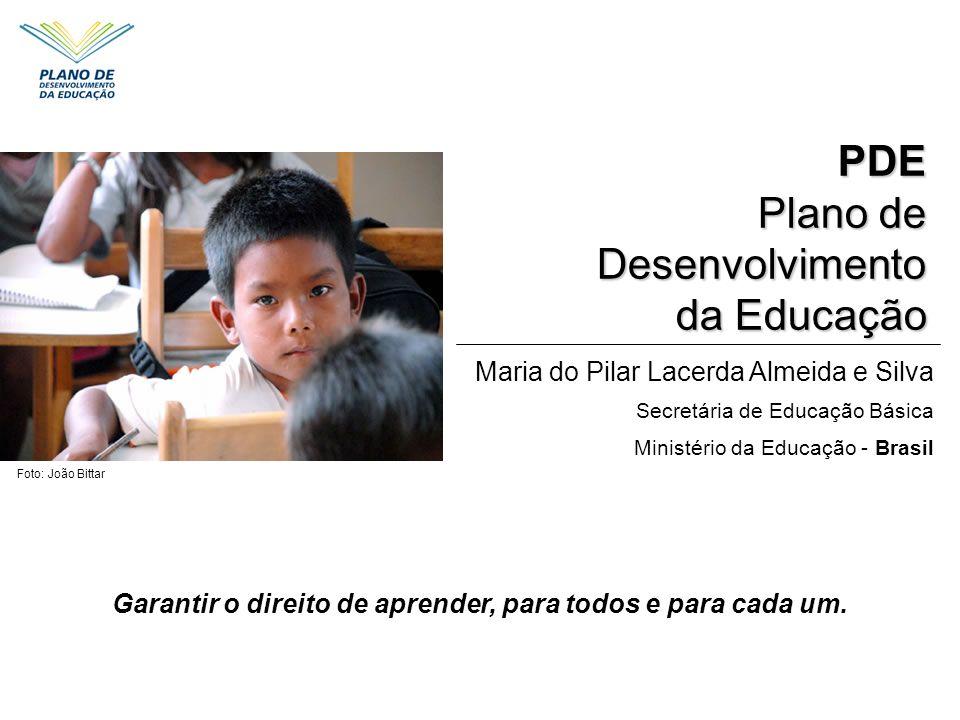 Garantir o direito de aprender, para todos e para cada um.