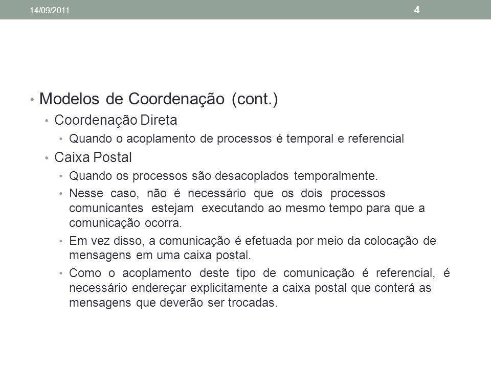 Modelos de Coordenação (cont.)