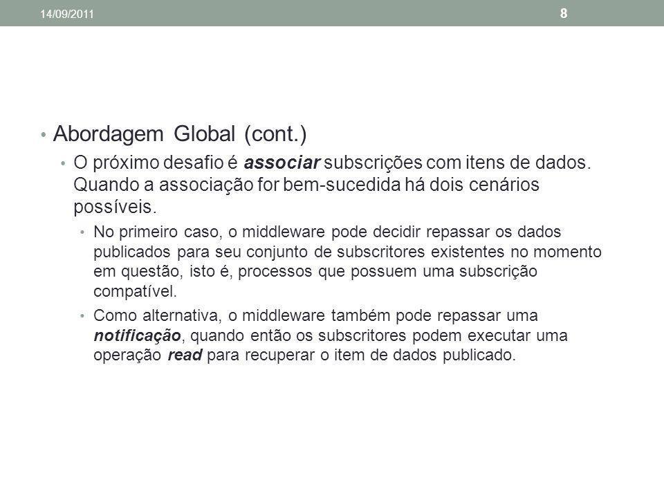 Abordagem Global (cont.)