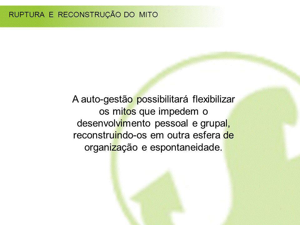 RUPTURA E RECONSTRUÇÃO DO MITO