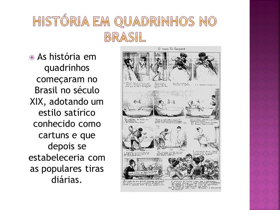História em quadrinhos no Brasil