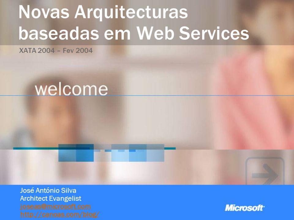 Novas Arquitecturas baseadas em Web Services