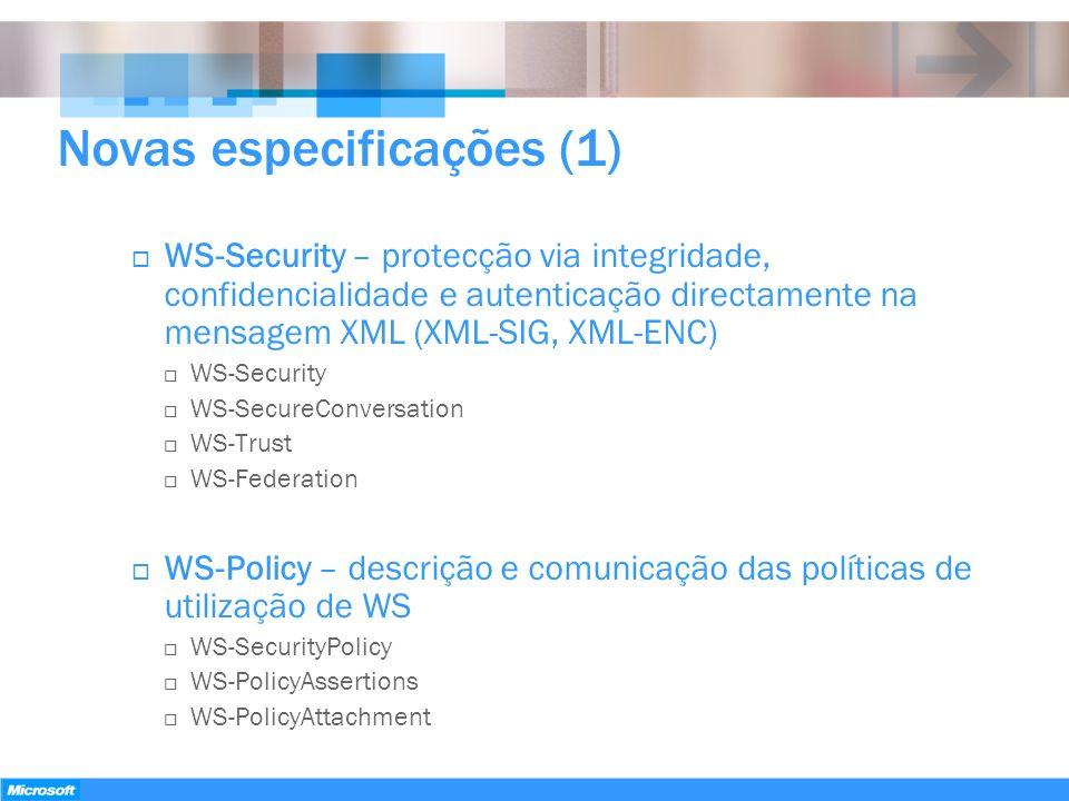 Novas especificações (1)
