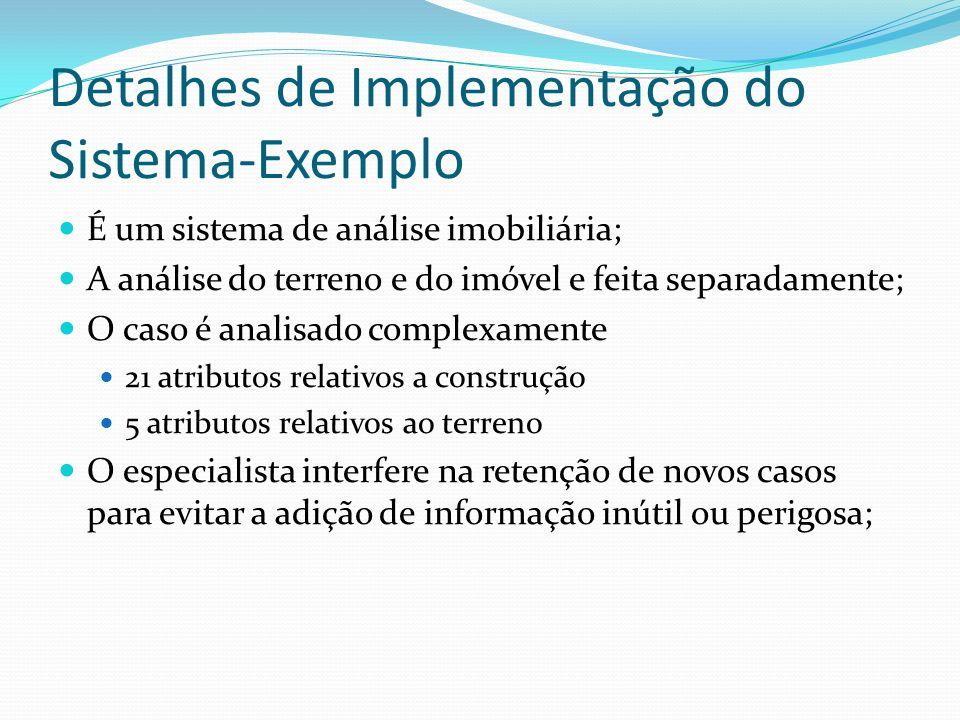 Detalhes de Implementação do Sistema-Exemplo