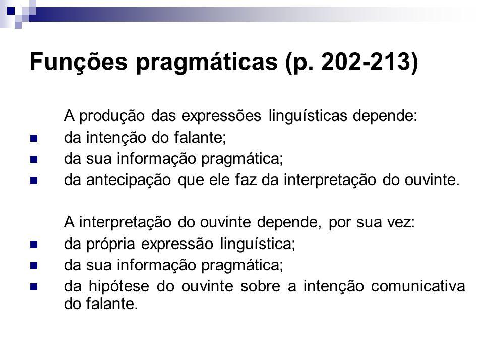Funções pragmáticas (p. 202-213)
