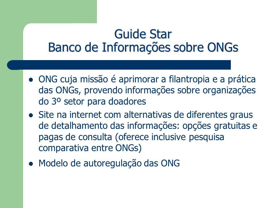 Guide Star Banco de Informações sobre ONGs