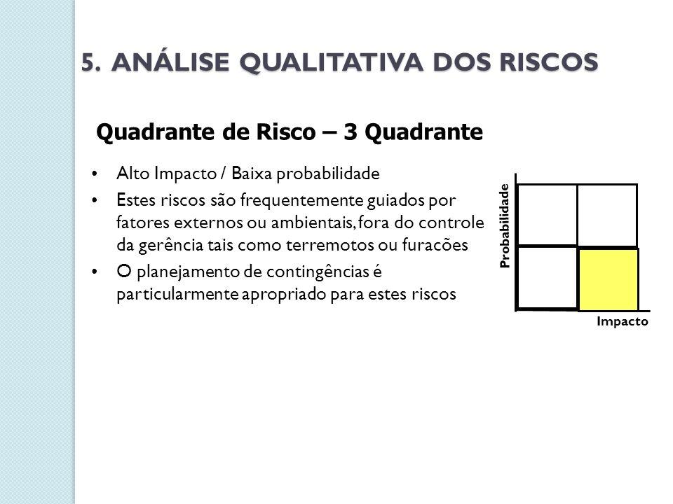 5. ANÁLISE QUALITATIVA DOS RISCOS