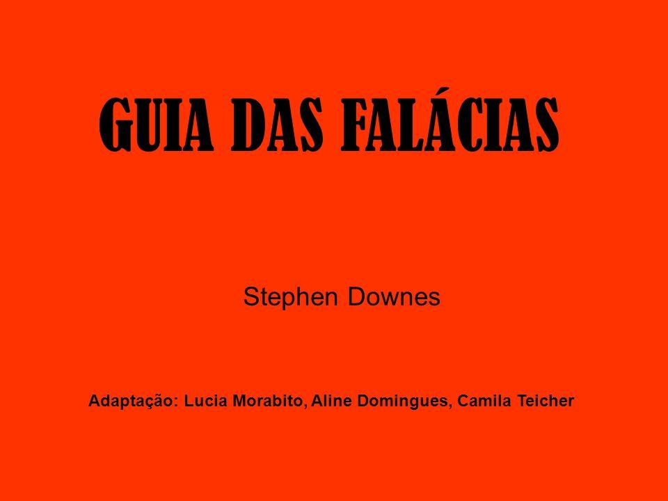 GUIA DAS FALÁCIAS Stephen Downes