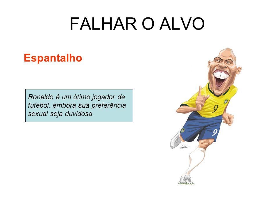 FALHAR O ALVO Espantalho