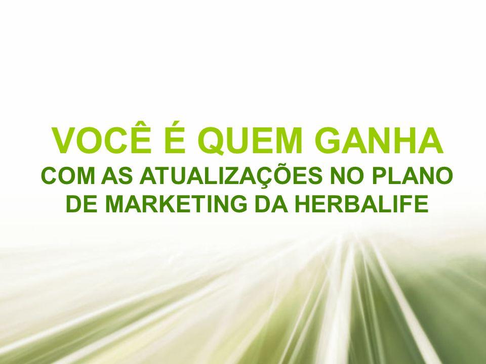 COM AS ATUALIZAÇÕES NO PLANO DE MARKETING DA HERBALIFE