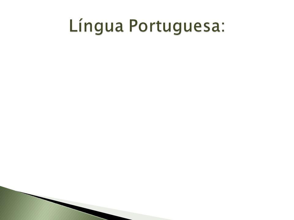 Língua Portuguesa: