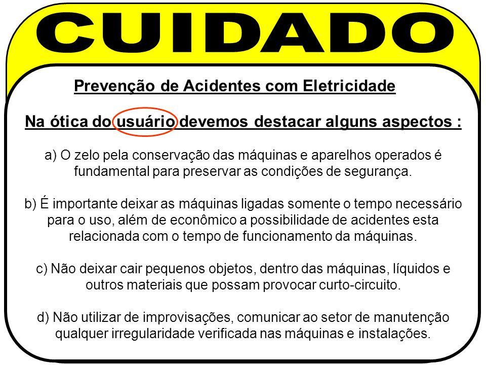 Prevenção de Acidentes com Eletricidade