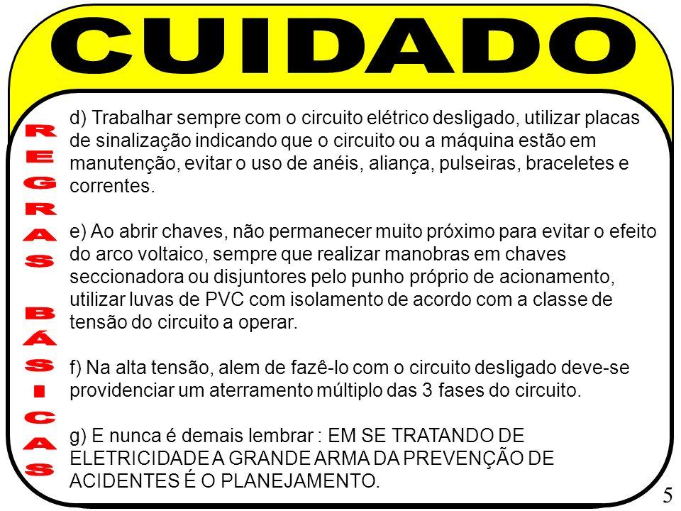 CUIDADO REGRAS BÁSICAS 5