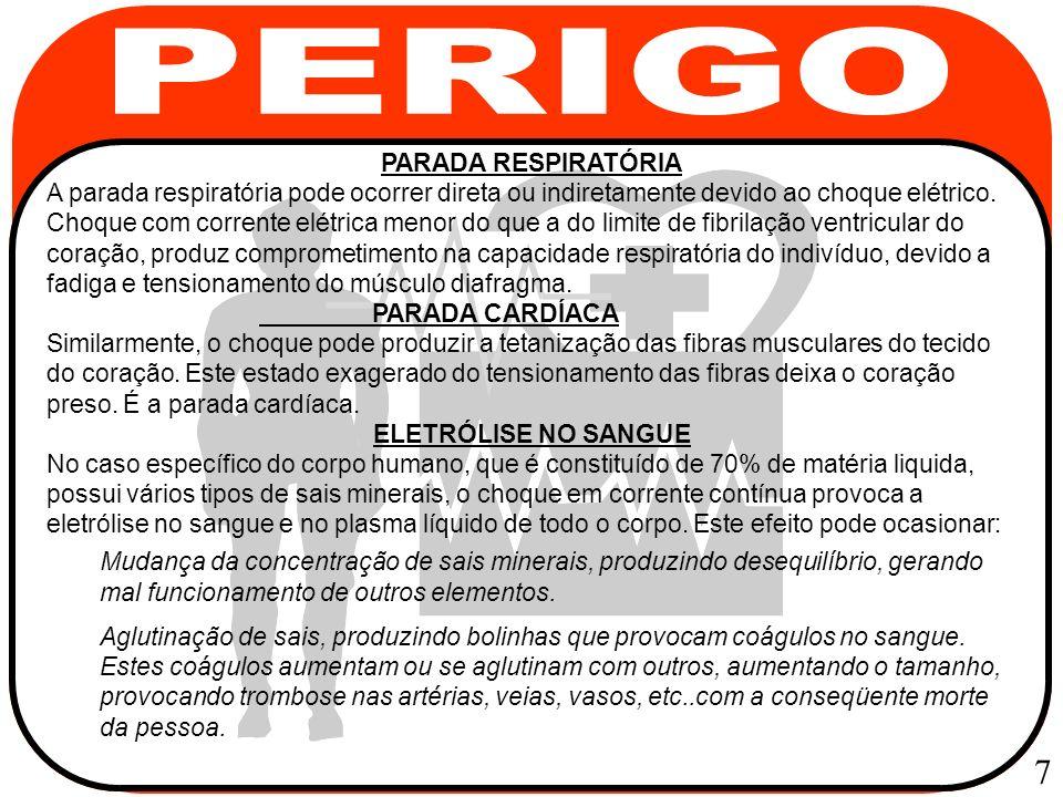 PERIGO 7 PARADA RESPIRATÓRIA