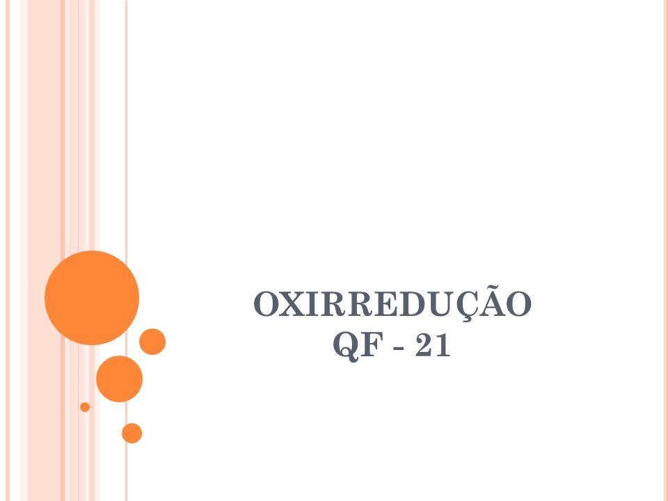 OXIRREDUÇÃO QF - 21