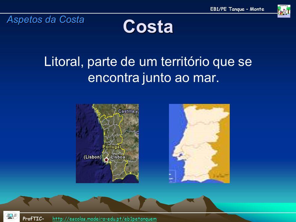 Litoral, parte de um território que se encontra junto ao mar.