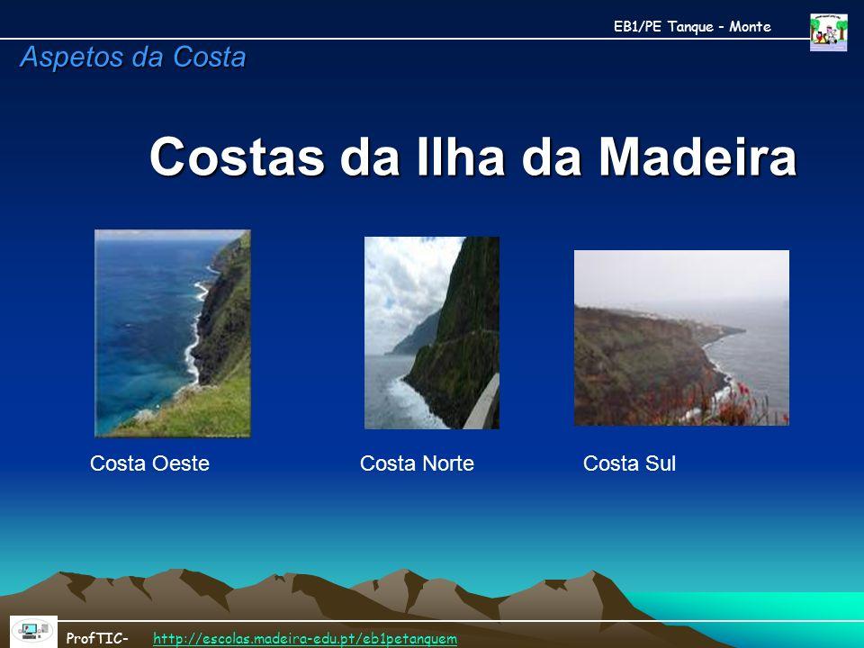 Costas da Ilha da Madeira