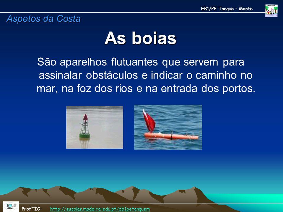 EB1/PE Tanque - MonteAspetos da Costa. As boias.