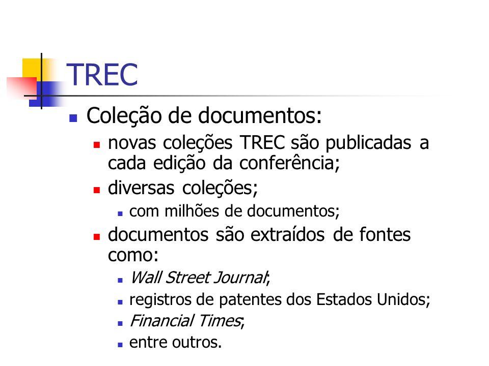 TREC Coleção de documentos: