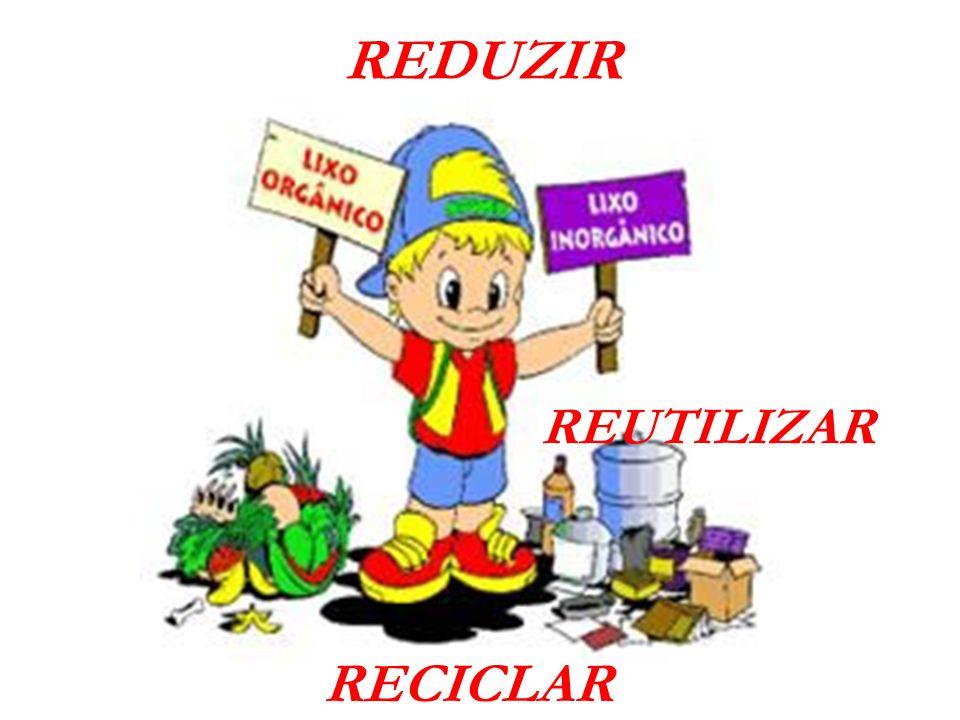REDUZIR REUTILIZAR RECICLAR