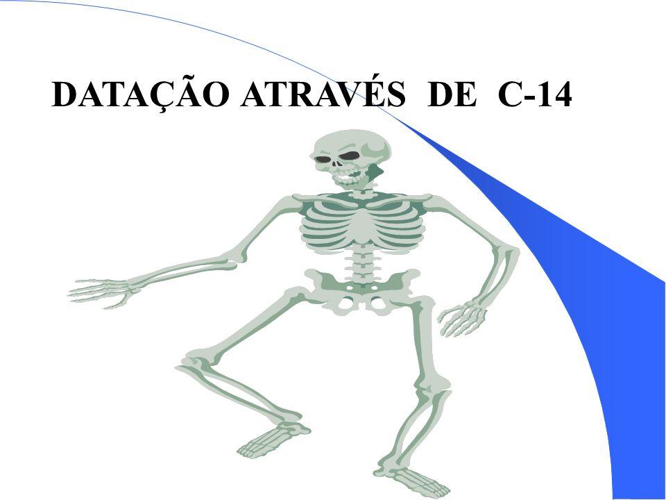 DATAÇÃO ATRAVÉS DE C-14