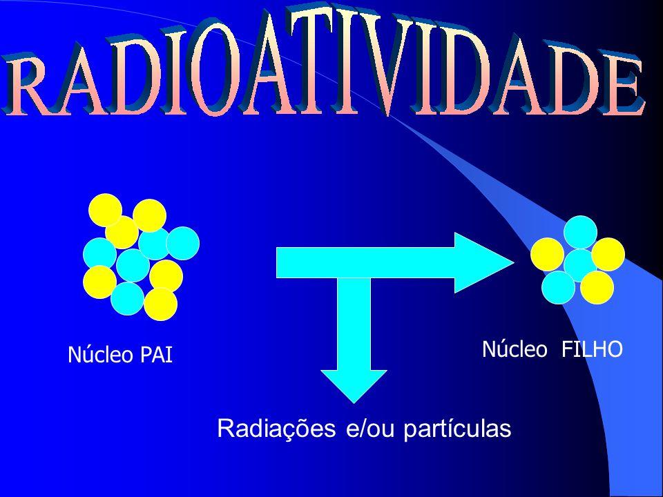 Radiações e/ou partículas