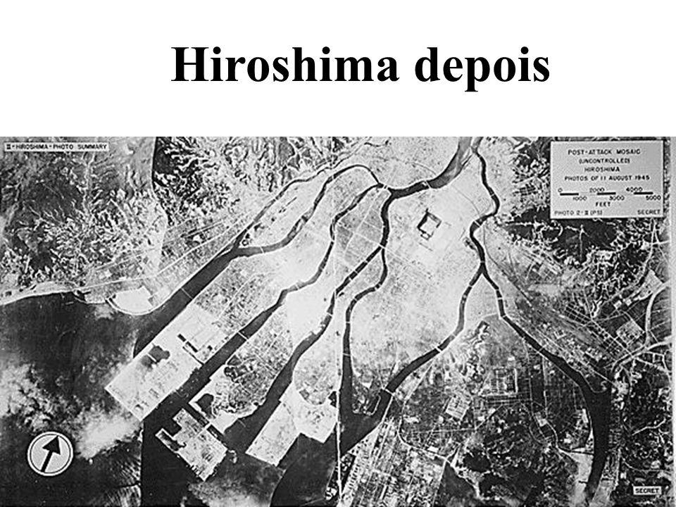 Hiroshima depois