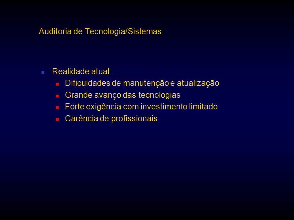 Auditoria de Tecnologia/Sistemas