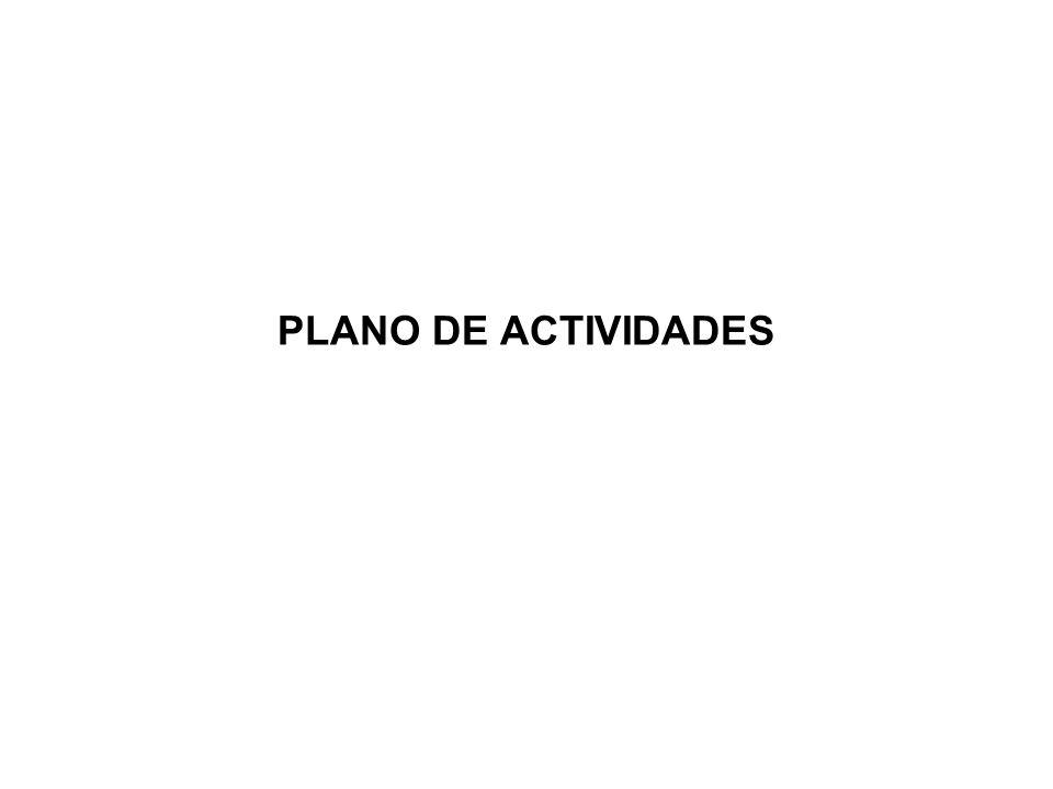 PLANO DE ACTIVIDADES