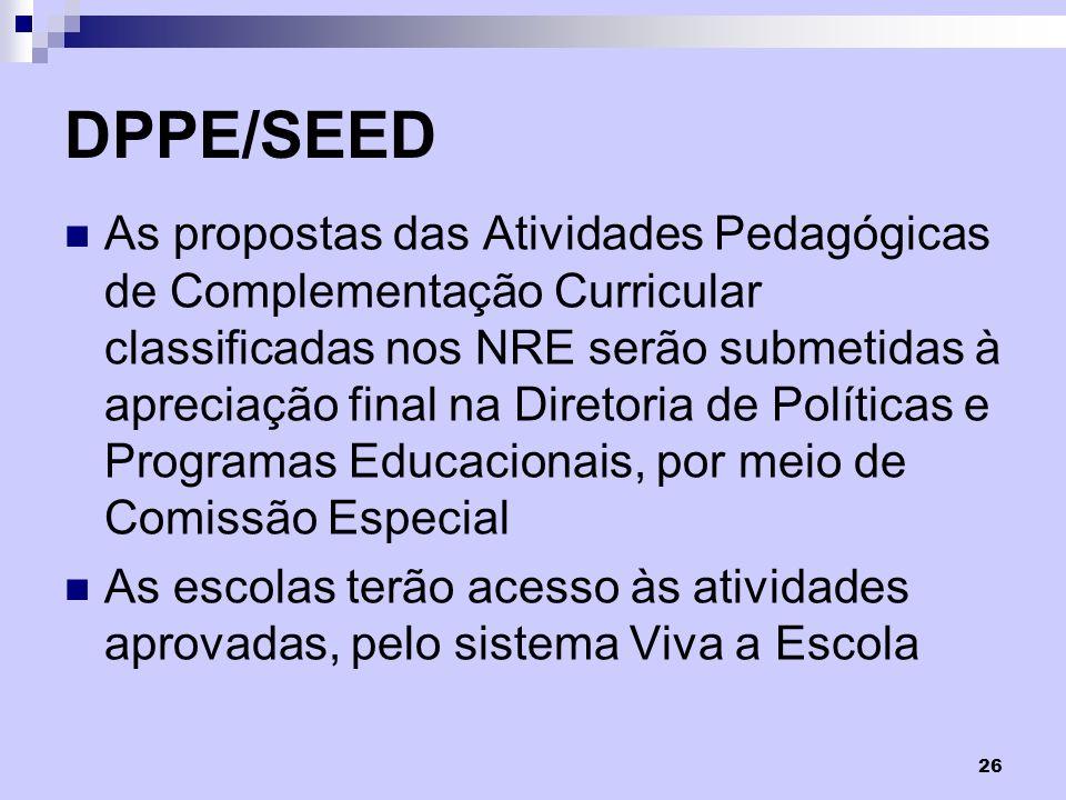 DPPE/SEED
